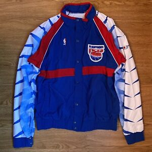 AUTHENTIC & RARE '92 GAME WORN NEW JERSEY NETS WARM UP JACKET SIZE 42