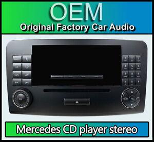 Mercedes ML CD player stereo radio, Mercedes Benz Audio 20 MF2710 A1648208289