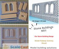 Model Railway Scenery - NS11 Double windows and Custom Tiles  - OO Gauge