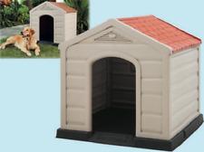 Fraschetti Doggy Cuccia per Cani per Esterno - Beige/Rossa