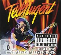 TED NUGENT – ULTRALIVE BALLISTICROCK 2CD & DVD Deluxe Edition (NEW)