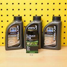 YAMAHA YFM 700 Grizzly Set 07-15 3 l Huile Filtre à huile BELRAY ATV 10w40 d'huile Hunter
