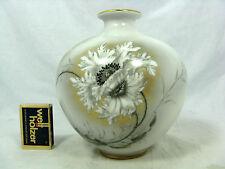 Signed & handpainted 50´s Heinrich & Co porcelain vase Kunstabteilung Seethal