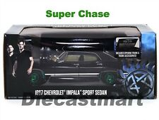 GREENLIGHT 1:24 1967 CHEVY IMPALA SUPERNATURAL SUPER CHASE CAR GREEN 84032 NEW
