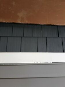 Charcoal Grey SHAKE VINYL SIDING 200 sq ft CAN DELIVER LOCALLY /PRICE NEGOTIABLE