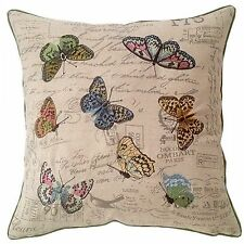 Pastel Butterfly Filled Cushion 3936