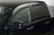 Putco 4PC Tinted In-channel Ventshades for 2009-2013 Dodge Ram 1500 Quad Cab