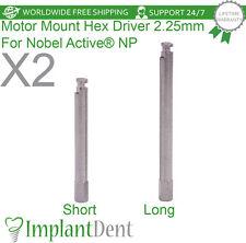 2 Motor Mount Hex Driver For Nobel Biocare Active Hex Np Dental Implant