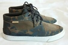 POINTER Mathieson Mid top Suede Camouflage Sneakers skate Shoe Size uk 5 eu 38