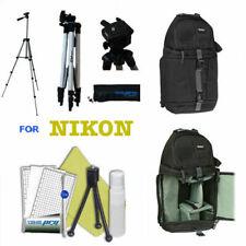 "57"" PRO TRIPOD + BACKPACK BAG +REMOTE FOR NIKON D5600 D3400 D3100 D3200 D3300"
