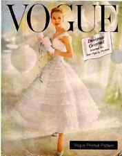 Vintage Années 50 VOGUE Design Original Chantilly robe de mariage de bal sewing pattern
