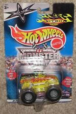 New! 2000 Hot Wheels Monster Jam WCW Nitro Machine Long Card MOC 1:64 Truck