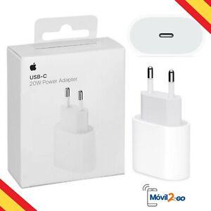 Cargador Rápido 20W Cable 1mt ó 2mt para iPhone 12 / 12 Pro,12 Pro Max 12 Mini