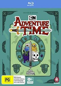 Adventure Time Complete Collection 1 - 10 Blu ray Box set RB