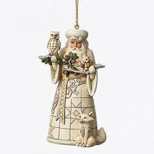 Enesco Jim Shore Woodland Santa Ornament Nib Item #4050011
