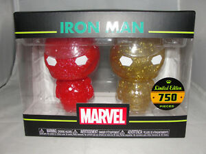 Funko Hikari XS Marvel Comics Iron Man Red & Gold Vinyl Figure Set-New