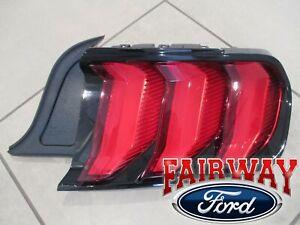 18 thru 20 Mustang OEM Genuine Ford LED Tail Lamp Light Right Passenger NEW