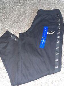 NWT Women's PUMA Black Joggers Pants Size Large, XLarge