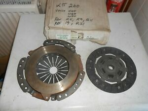 Renault 9,11,19,21, clio, volvo 440 460, 480 clutch kit (NO RELEASE BEARNG)