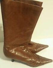 Women's Size 38 Brown ALDO Mid Calf Boots