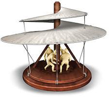 NEU Leonardo da Vinci Luftschraube Modell Bausatz Vorläufer des Hubschraubers