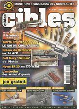 """CIBLES N°429 MUNITIONS / DETONICS EN 45 ACP / COLT NAVY """"CIVILIAN"""" / REMINGTON"""