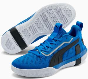 Puma Low Legacy Basketball Shoes Size 9.5  Men's blue