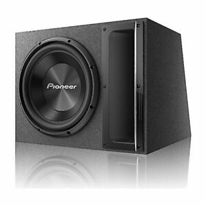 """Pioneer TS-A120B Ported enclosure 12"""" 2-ohm Subwoofer System 1500 Watts Max"""