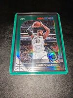2019-20 Hoops Premium Stock Lamarcus Aldridge Green Prizm MINT