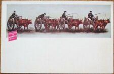 'Twin Cities to Winnipeg 15 Days' 1908 Advertising Postcard w/Ox-Cart