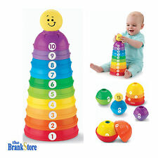 Toddler Learning Toys Baby Basics Stack Roll Cups Kids Developmental Toy Game