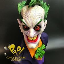 JOKER Life-Size 1:1 Bust RICK BAKER Limted to 200 Pieces DC COMICS Collectibles!