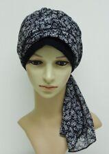 Volume turban, elegant head wear, turban with long ends, head snood, hair snood