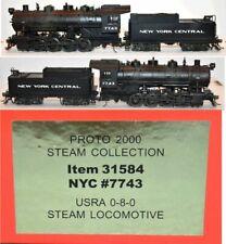NYC 7743 0-8-0 Steam Proto 2000 DCC Sound  LL 31584 HO  Scale MR5.14