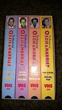 THE ADVENTURES OF OZZIE & HARRIET VHS BOXED SET - 4 TAPES