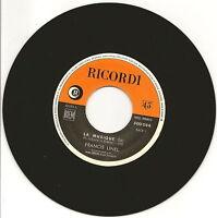 """LINEL Francis Vinyle 45 tours 7"""" SP LA MUSIQUE J LECCIA"""