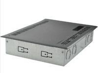 FSR Creative Metal Solutions Wallbox for Crestron DM Scaler PWB-273-CRST-DM-BLK