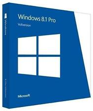 Microsoft Windows 8.1 Pro 64 Bit OEM Vollversion DVD und Key Code MS Win 8.1 Pro