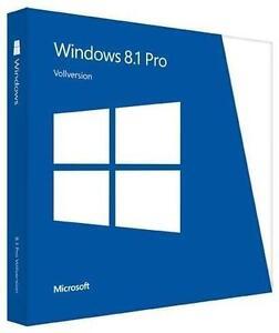 MS Windows 8.1 Pro 32/64 Bit Freischaltschlüssel ⭐ EU Ware ⭐ Deutscher Händler