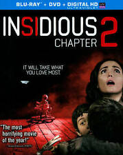 Insidious: Chapter 2 (Blu-ray/DVD, 2013, 2-Disc Set, Includes Digital Copy)