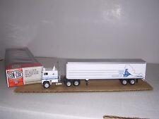 "Con-Cor #1077 Freightliner 10 Wheel Cab w/45' BoxTrailor ""Frei.Train Blt-up H.O."
