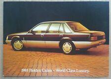 1985 Holden Calais original sales brochure