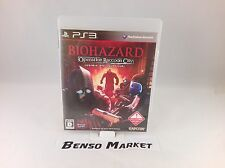 BIOHAZARD OPERATION RACCOON CITY RESINDENT EVIL SONY PS3 JAP GIAPPONESE COMPLETO