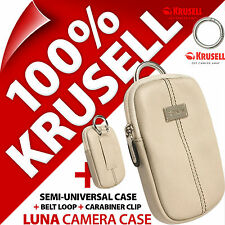 New Krusell Luna Universal Compact Digital Camera Case Bag for Sony Samsung Fuji