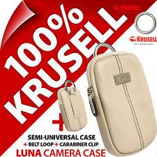 New Krusell Luna Universal Compact Digital Camera Case Bag for Sony Samsung Fuji