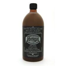 Savon noir multi-usages 1L eucalyptus Le Savonnier Marseillais Made In France