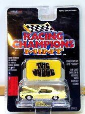 Racing Champions Mint Edition 1969 Pontiac GTO JUDGE #47 Yellow w Emblem & Stand