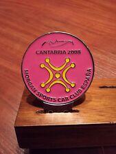 Morgan Sport Car Club meeting Spain in Cantabria in 2008.