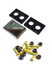 "Cal 7 1.25"" Hardware Yellow+ 1/4"" Riser Pads"