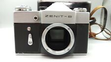 * 1969 vintage ancien URSS Zenit B Film Camera M42 vis Body + étui en cuir excellent